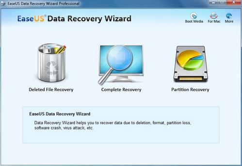 Easeus Data Recovery Wizard - Khôi phục dữ liệu hiệu quả