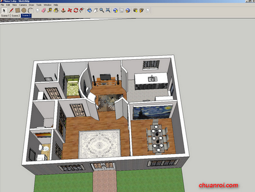 V-Ray for SketchUp Evaluation