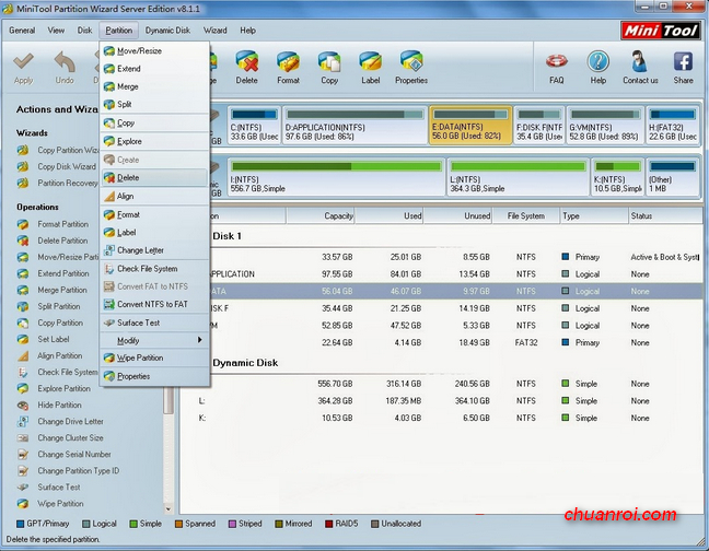 minitool partition wizard 7.1 crack
