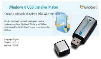 download windows 8 usb installer maker