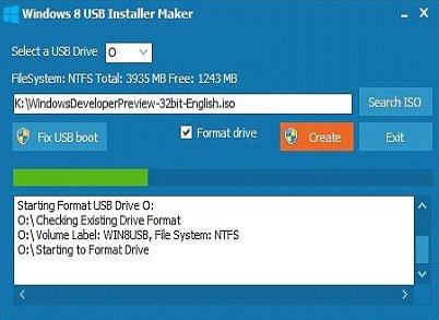 tai windows 8 usb installer maker