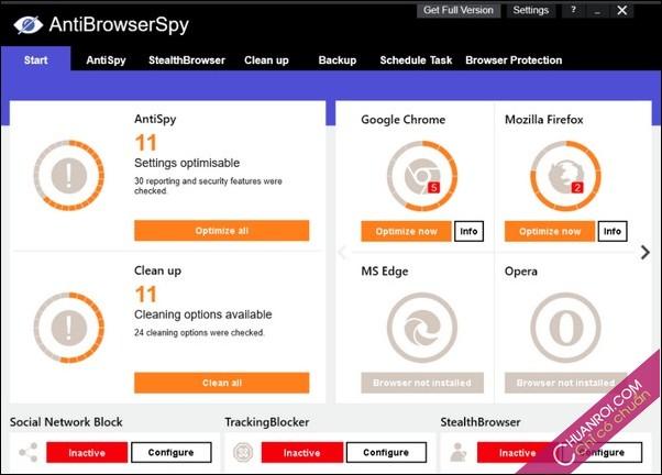 Download Abelssoft AntiBrowserSpy