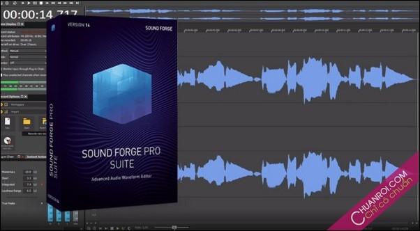Tai SONY Sound Forge Pro